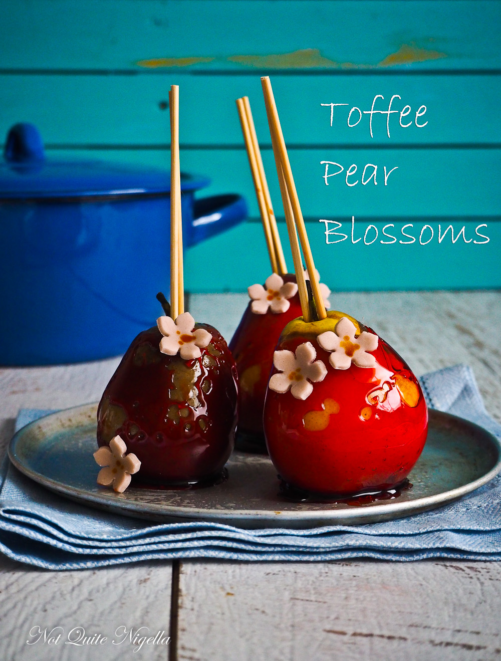 Toffee Pears