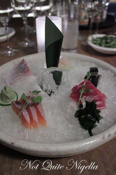 tokonoma, surry hills, sydney, sashimi