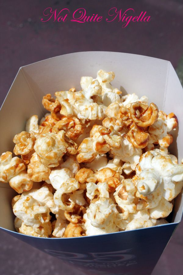 Tokyo Disneyland caramel popcorn
