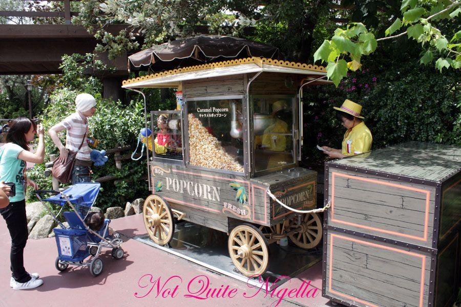 Tokyo Disneyland Caramel Popcorn story