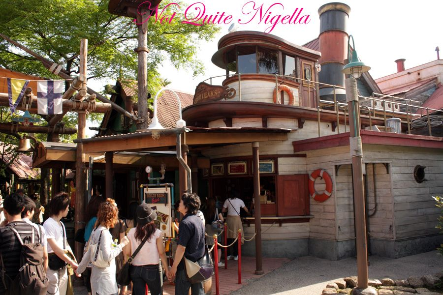 Tokyo Disneyland Boiler room