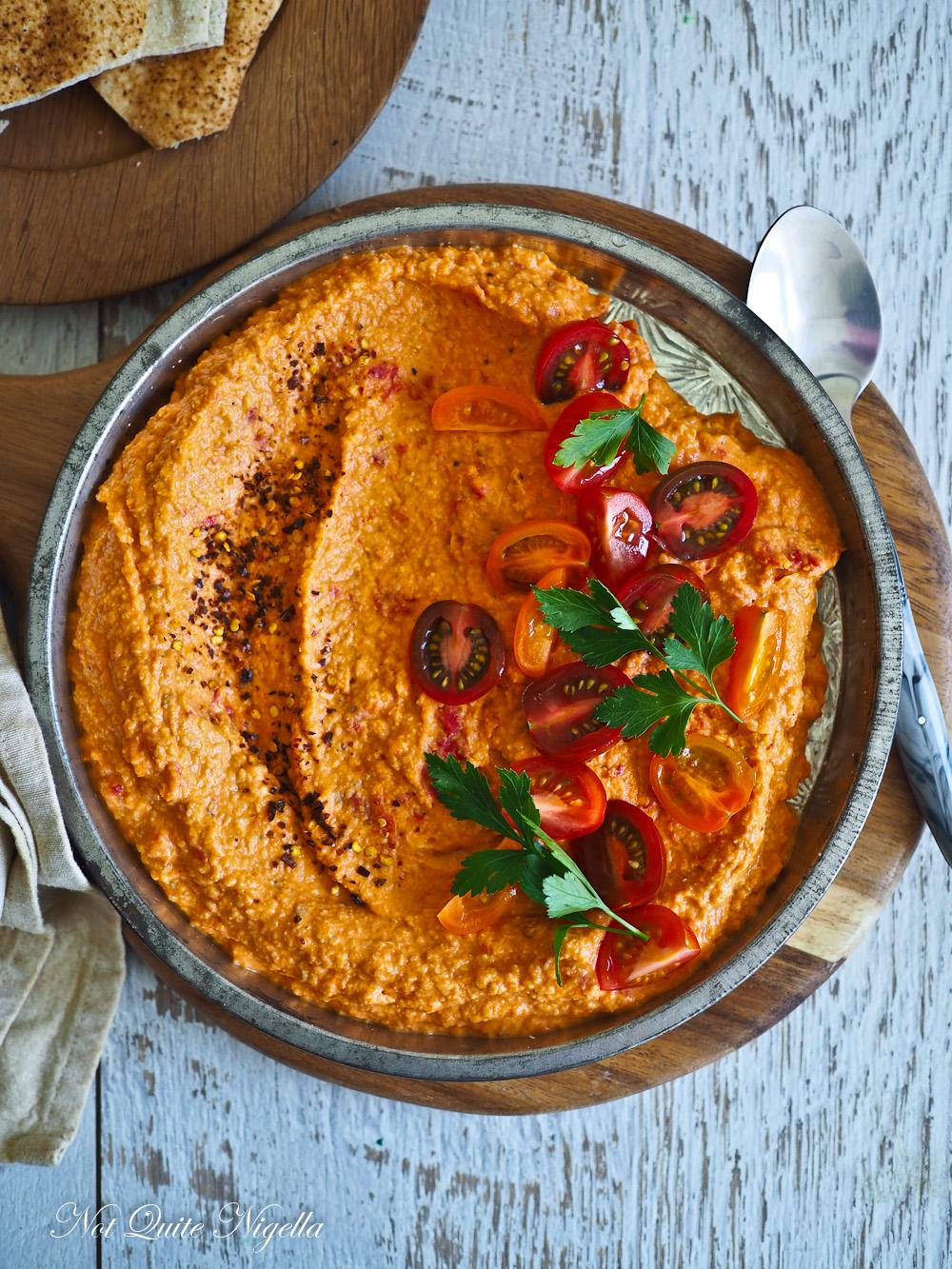 Tomato Hummus Recipe