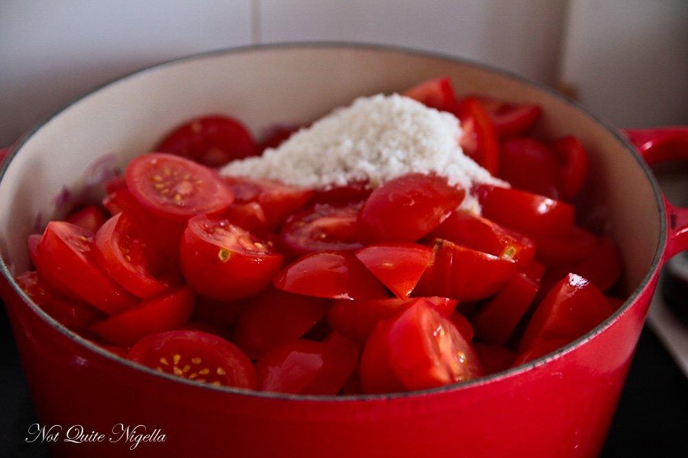 Homemade Ketchup Tomato Sauce
