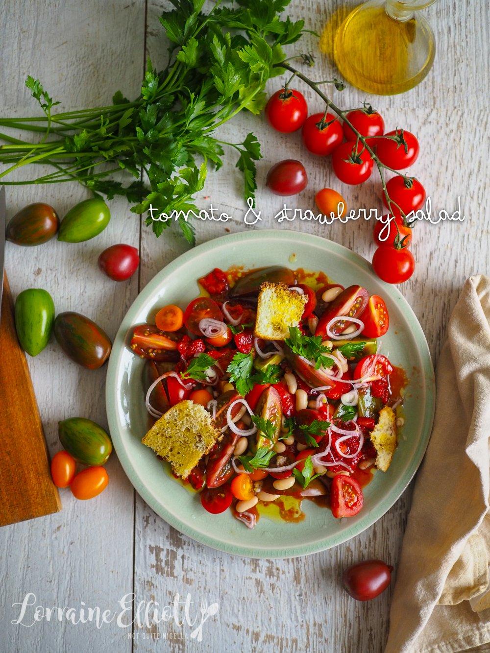 Tomato & Strawberry Salad