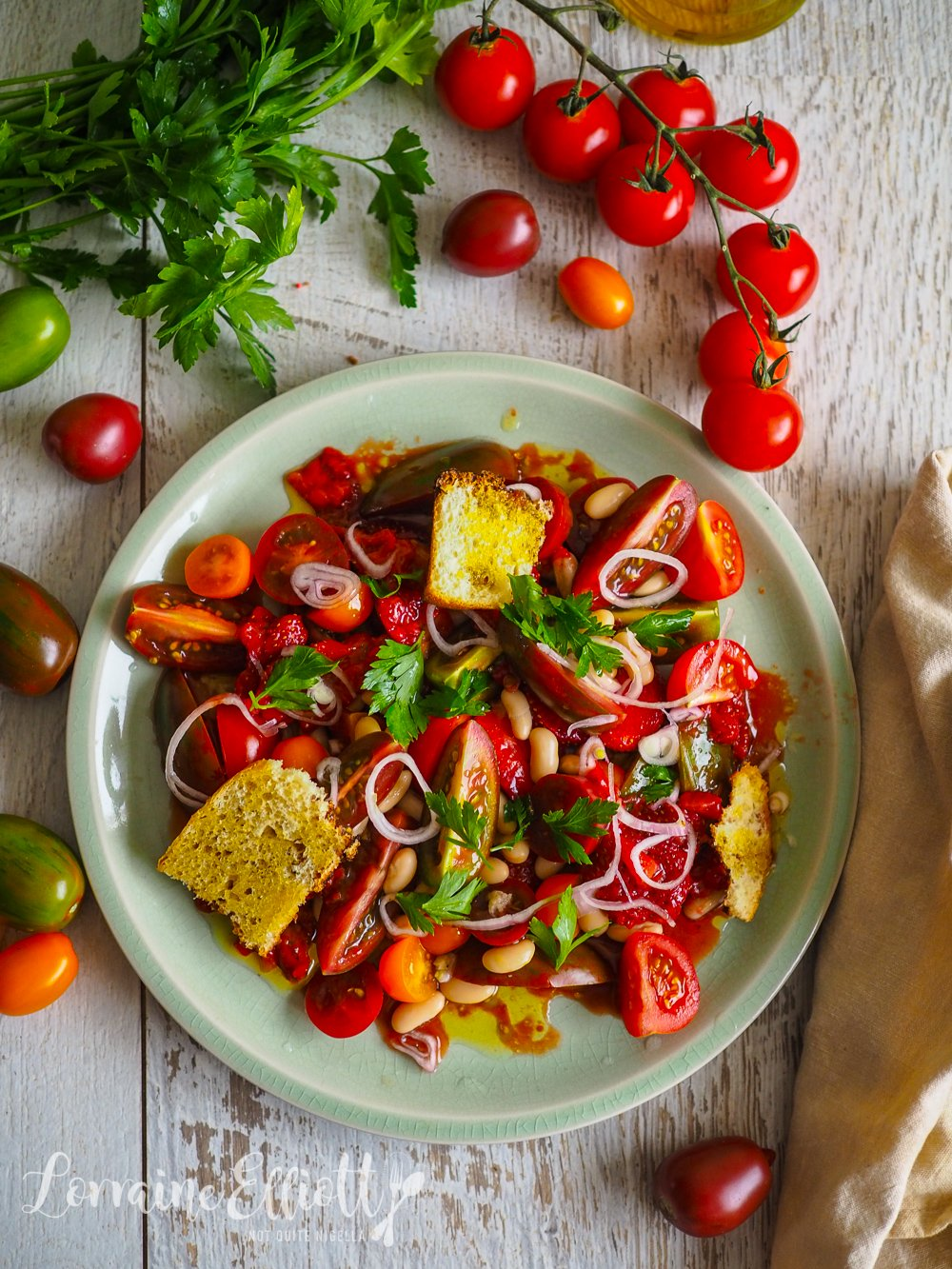 Tomato & Strawberry Salad