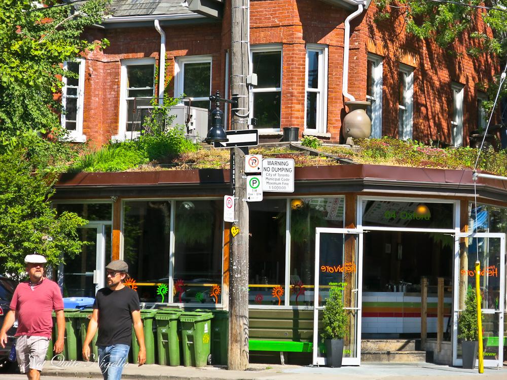 Toronto Kensington Market St Lawrence Market