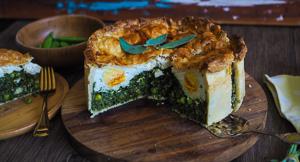 Torta Pasqualina - Easter Spinach & Ricotta Pie!