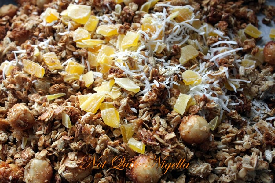 Tropical Mango and Coconut Muesli