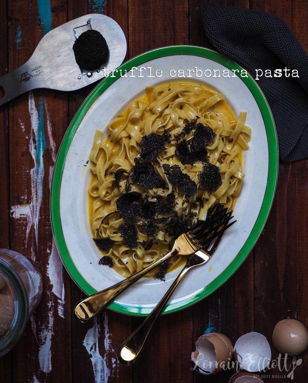 Truffle Carbonara Fettuccine