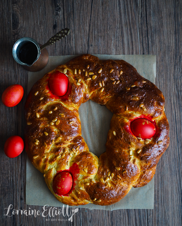 Tsoureki Greek Easter Bread recipe