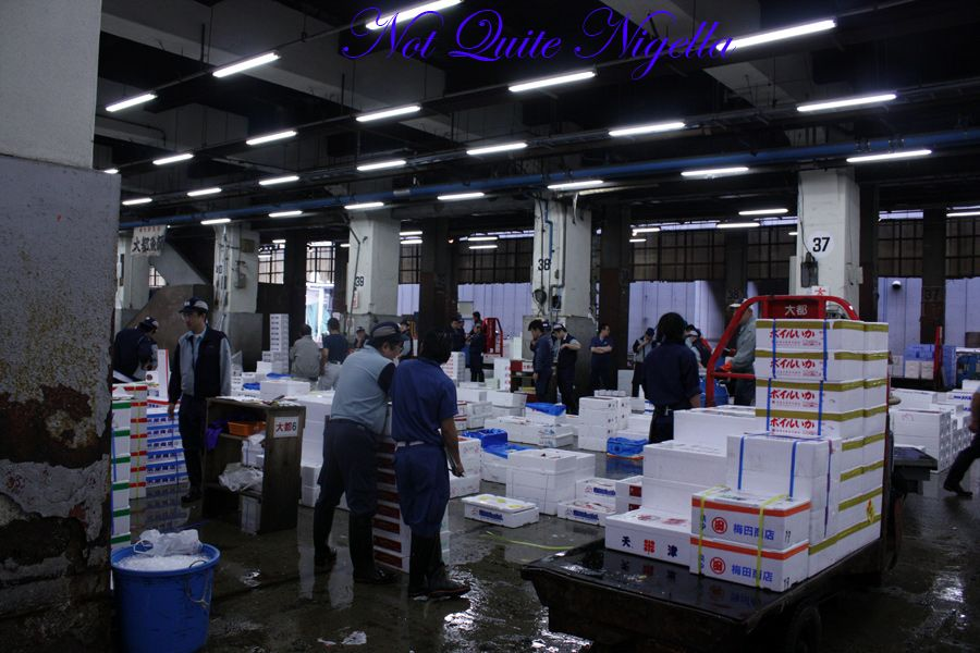 Tsukiji fish markets