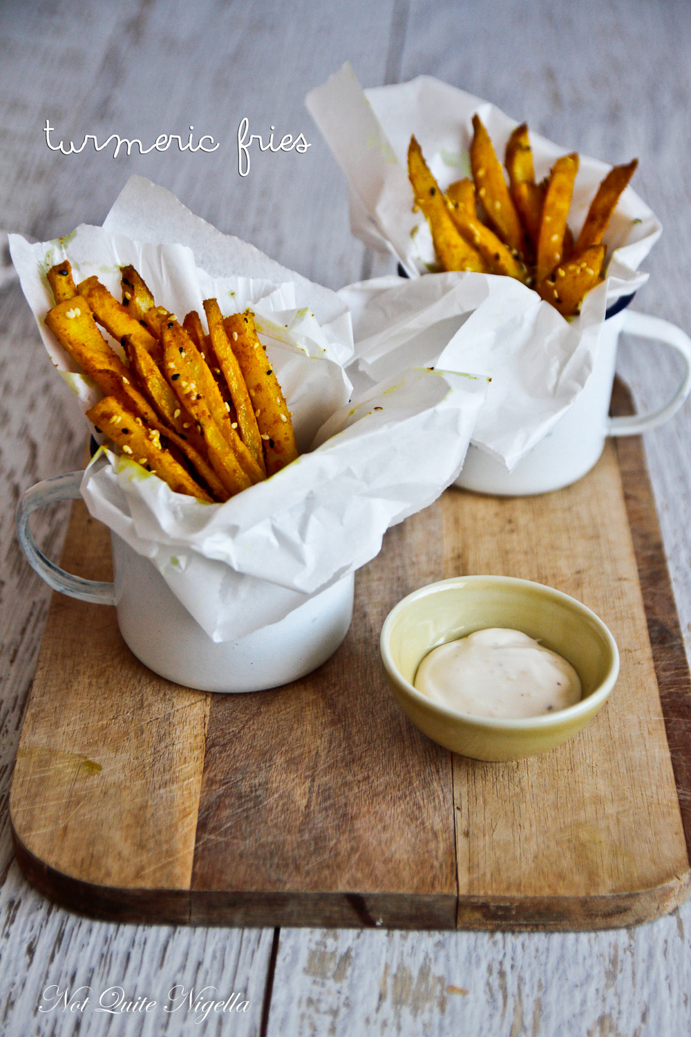 Turmeric French Fries
