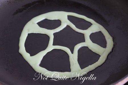 turtle pancake recipe, fun pancakes
