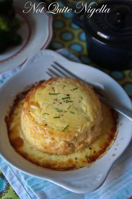 twice baked cheese souffle