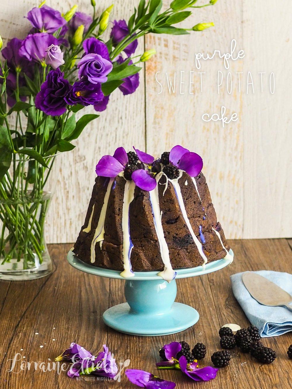 Ube Purple Sweet Potato Cake Recipe