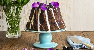 The Devilishly Delectable Purple Sweet Potato Cake Called Lila