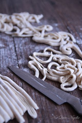 Made From Scratch: Fresh Udon Noodles Made With Your Feet!
