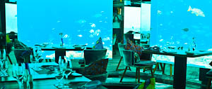 Dining Under The Sea, Maldives