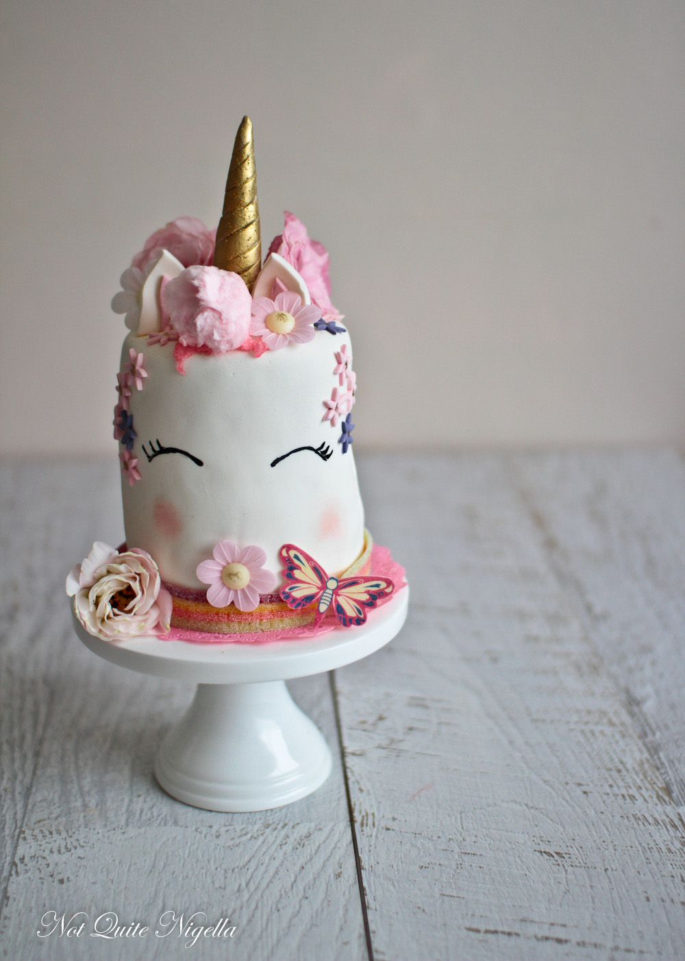 Unicorn Rainbow Cake Not Quite Nigella