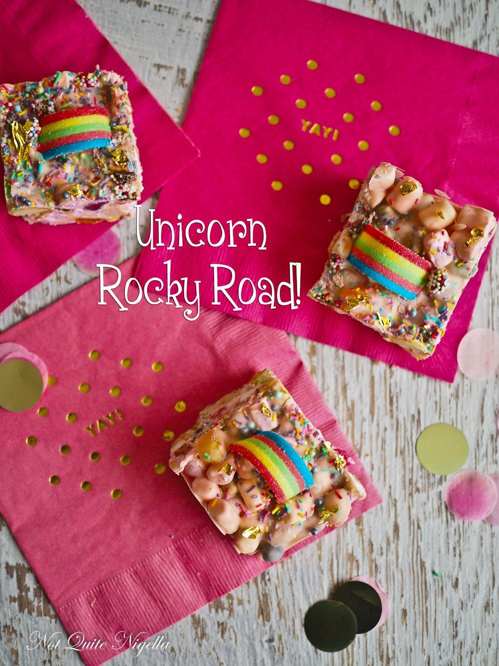 Unicorn Rocky Road