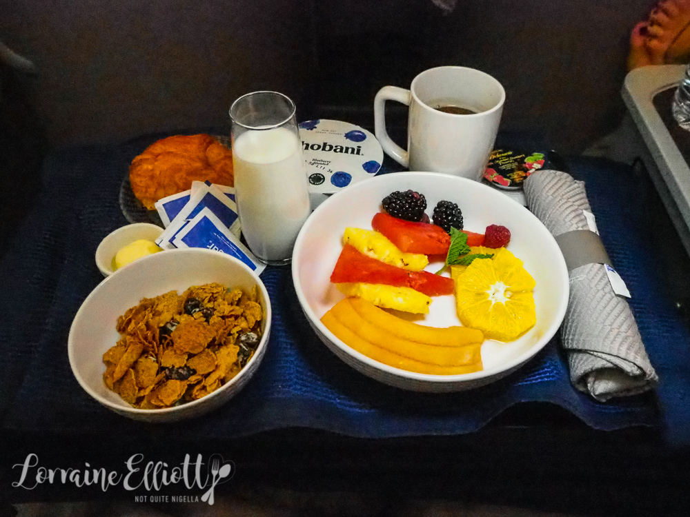 United Houston to Sydney Business Class Flight Review