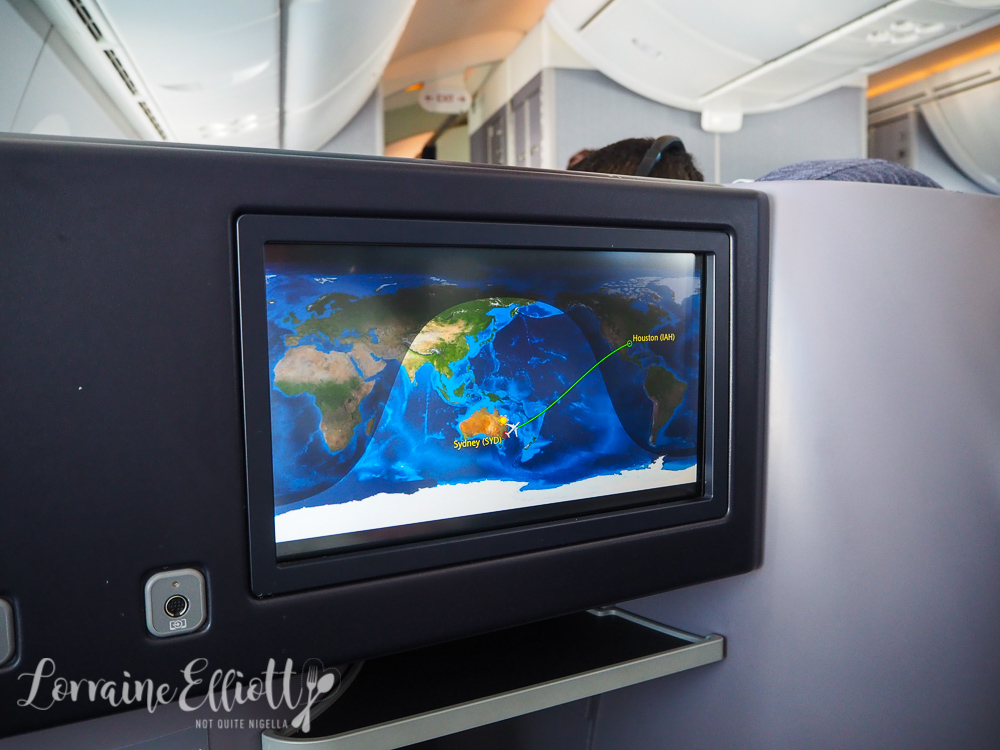 United Sydney to Houston Flight Review