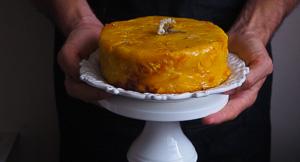 Fine-apple Golden Pineapple Upside Down Cake