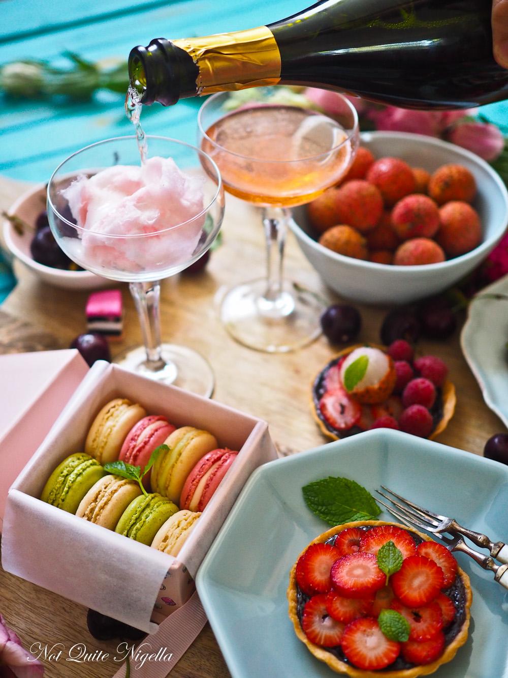 Mocha Strawberry Tart