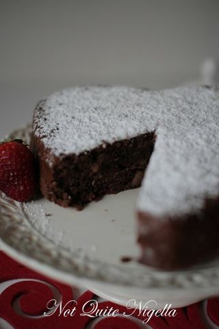 Vanessa's Simplest Chocolate & Apple Gluten Free Cake