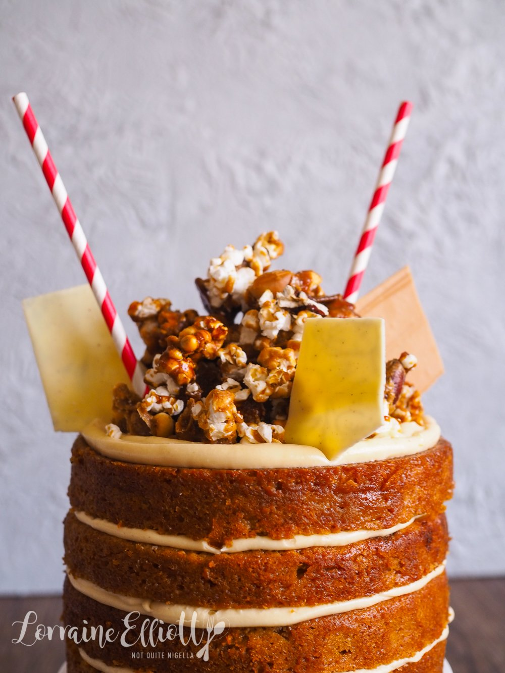 Vanilla Malt Layer Cake