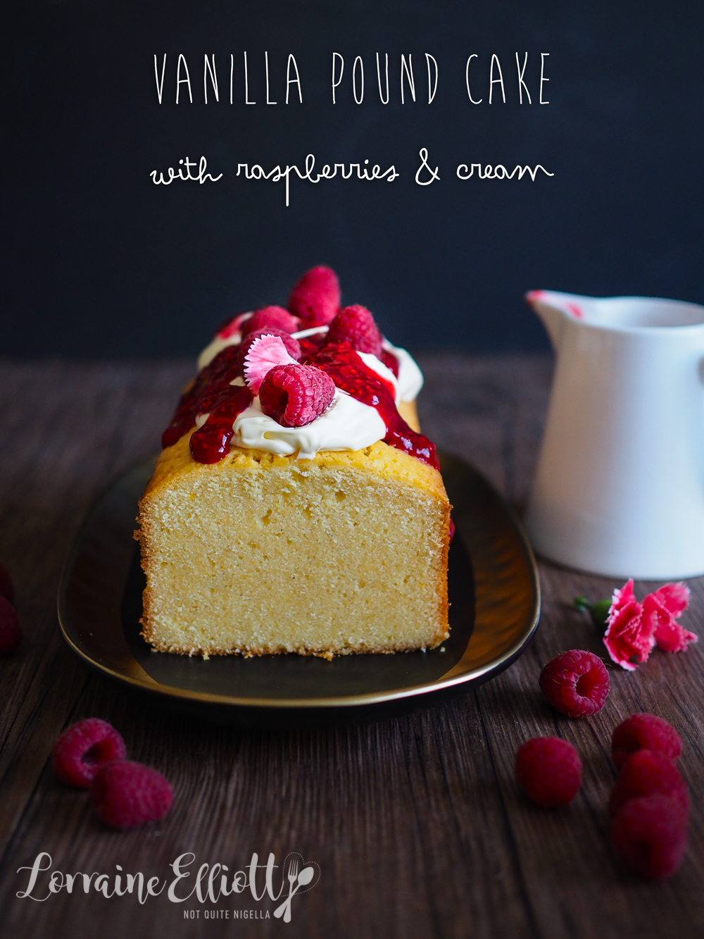 Vanilla Pound Cake recipe moist soft