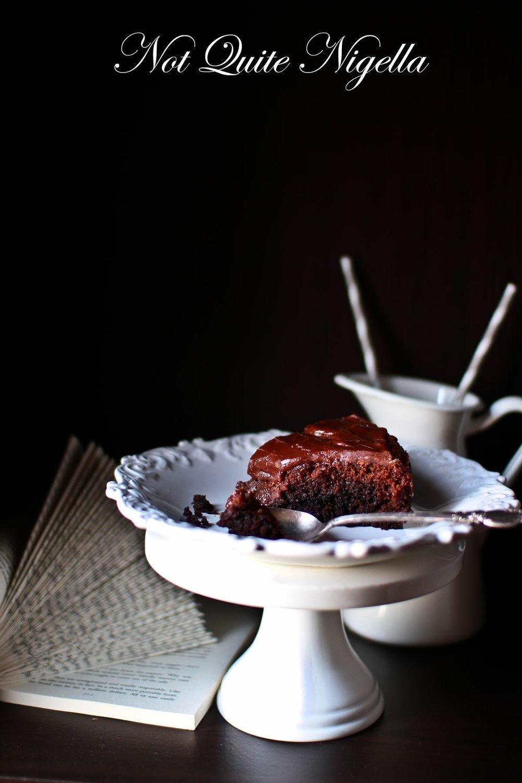 Vegan Chocolate Cake Not Quite Nigella