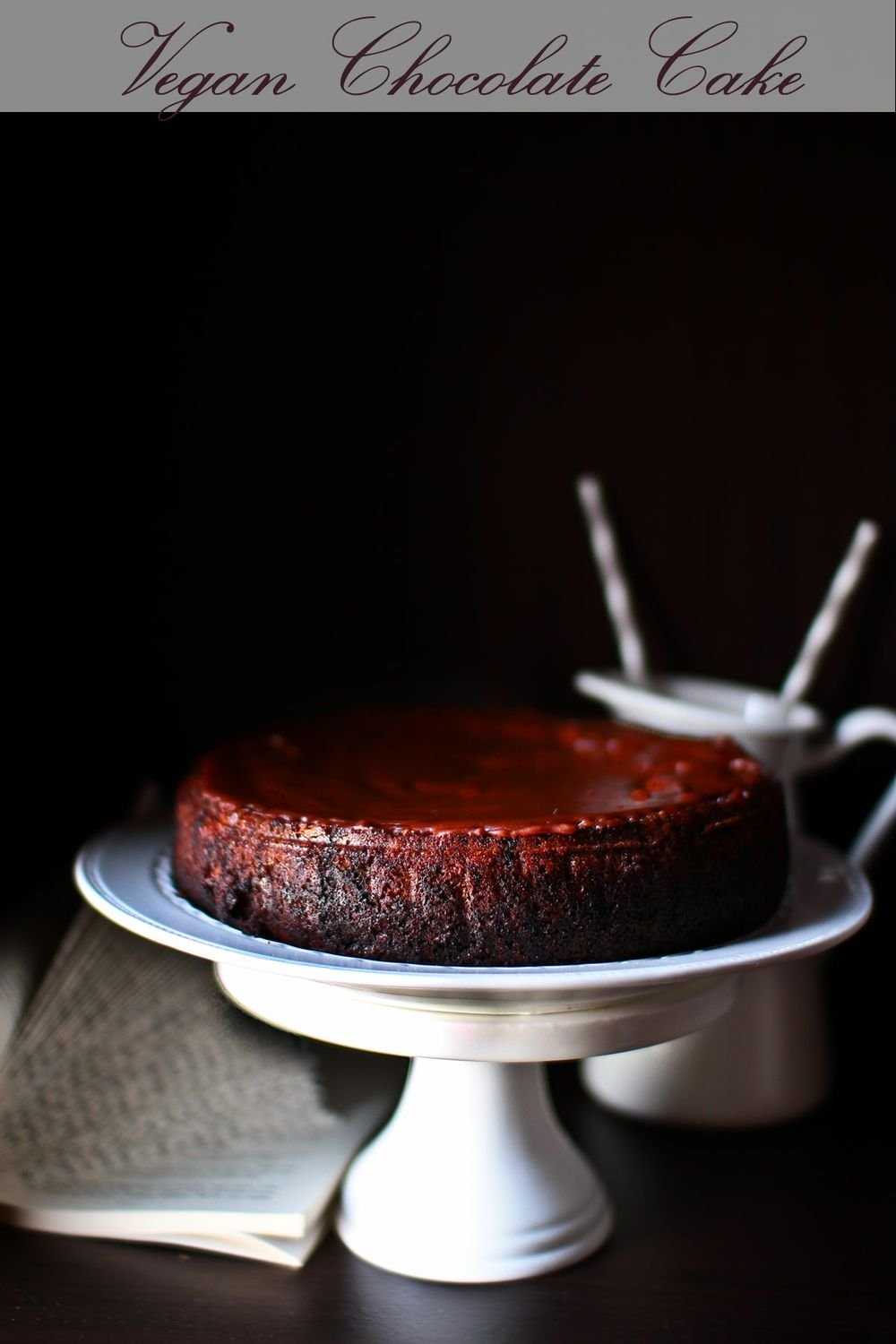 Chocolatey Rich Vegan Chocolate Cake