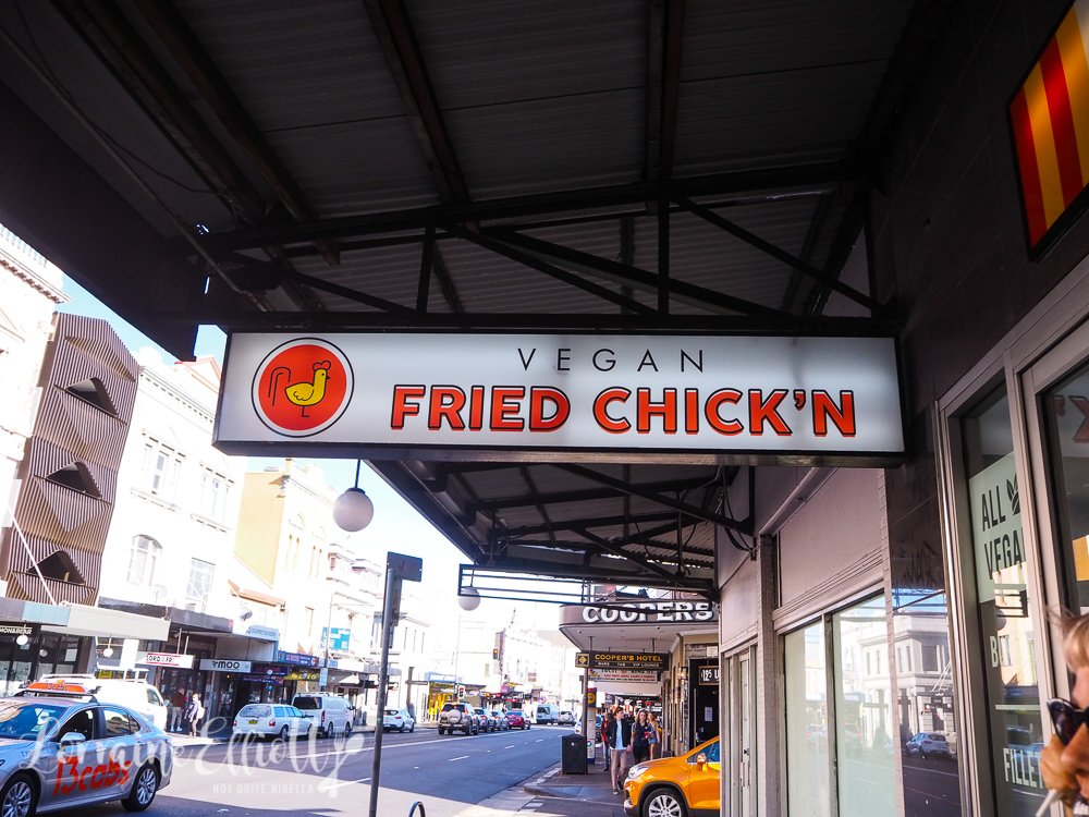 Vegan Fried Chickn, Newtown