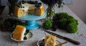 You Crack Me Up! Vegan Lemon Coconut Cake With The Most Amazing 2 Minute Coconut Frosting!