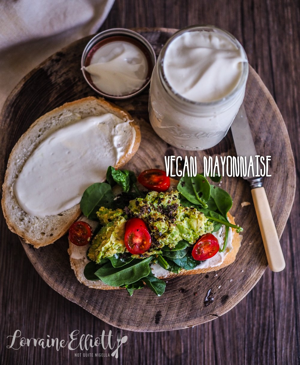 Easy vegan mayonnaise recipe