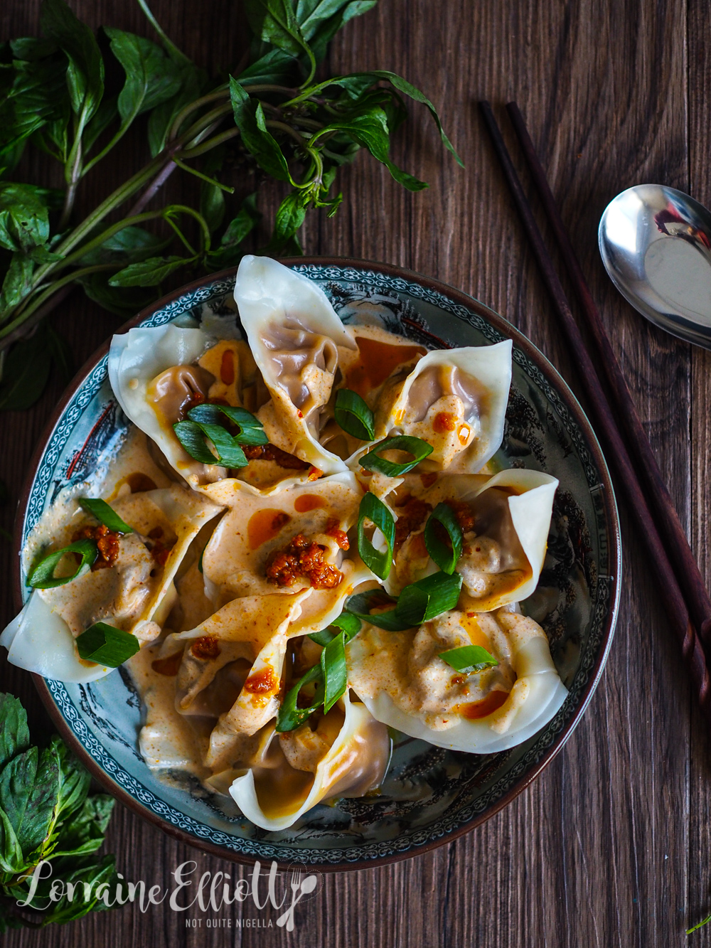 Vegan Pumpkin Red Curry Dumplings
