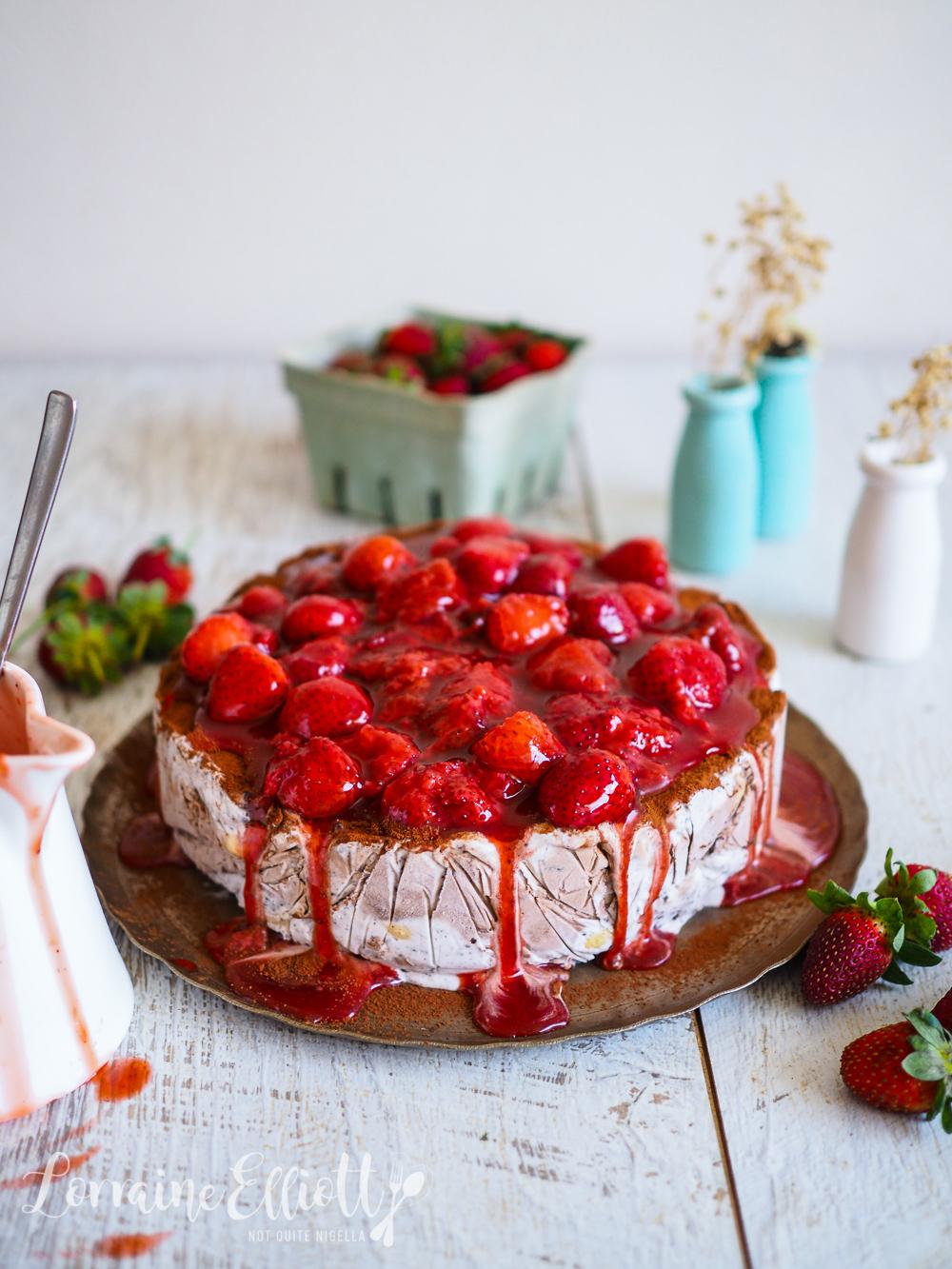 Vegan Tiramisu Ice Cream Cake