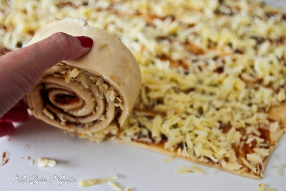 Cheese Vegemite Scroll recipe
