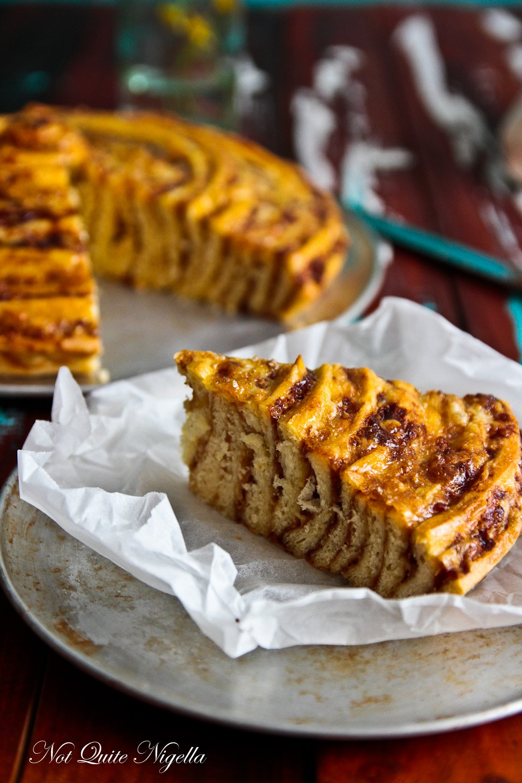 Giant Cheese and Vegemite Scroll Recipe @ Not Quite Nigella