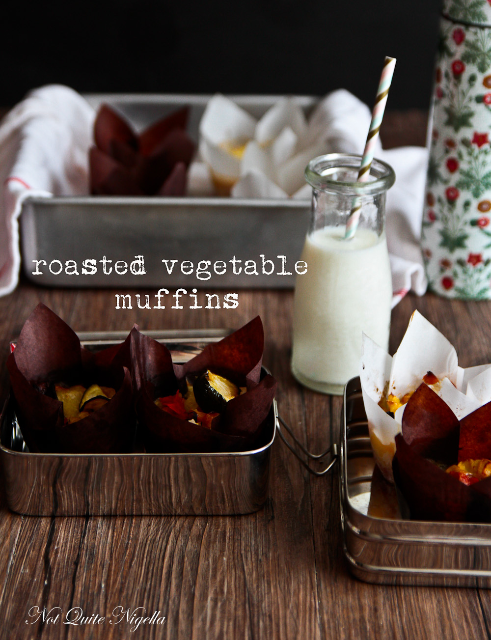 Healthy Vegetable Muffins