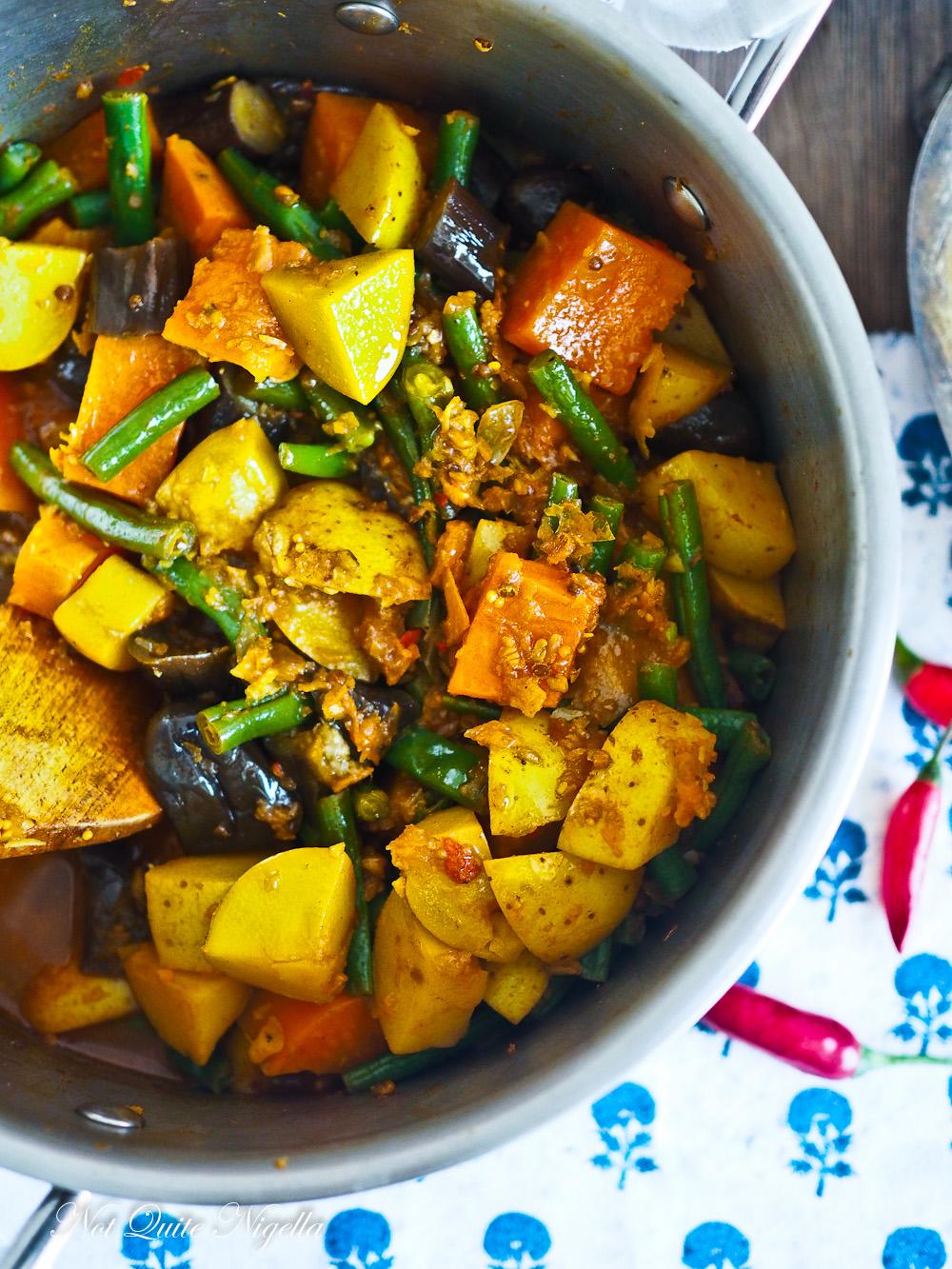 Vegetable Vindaloo