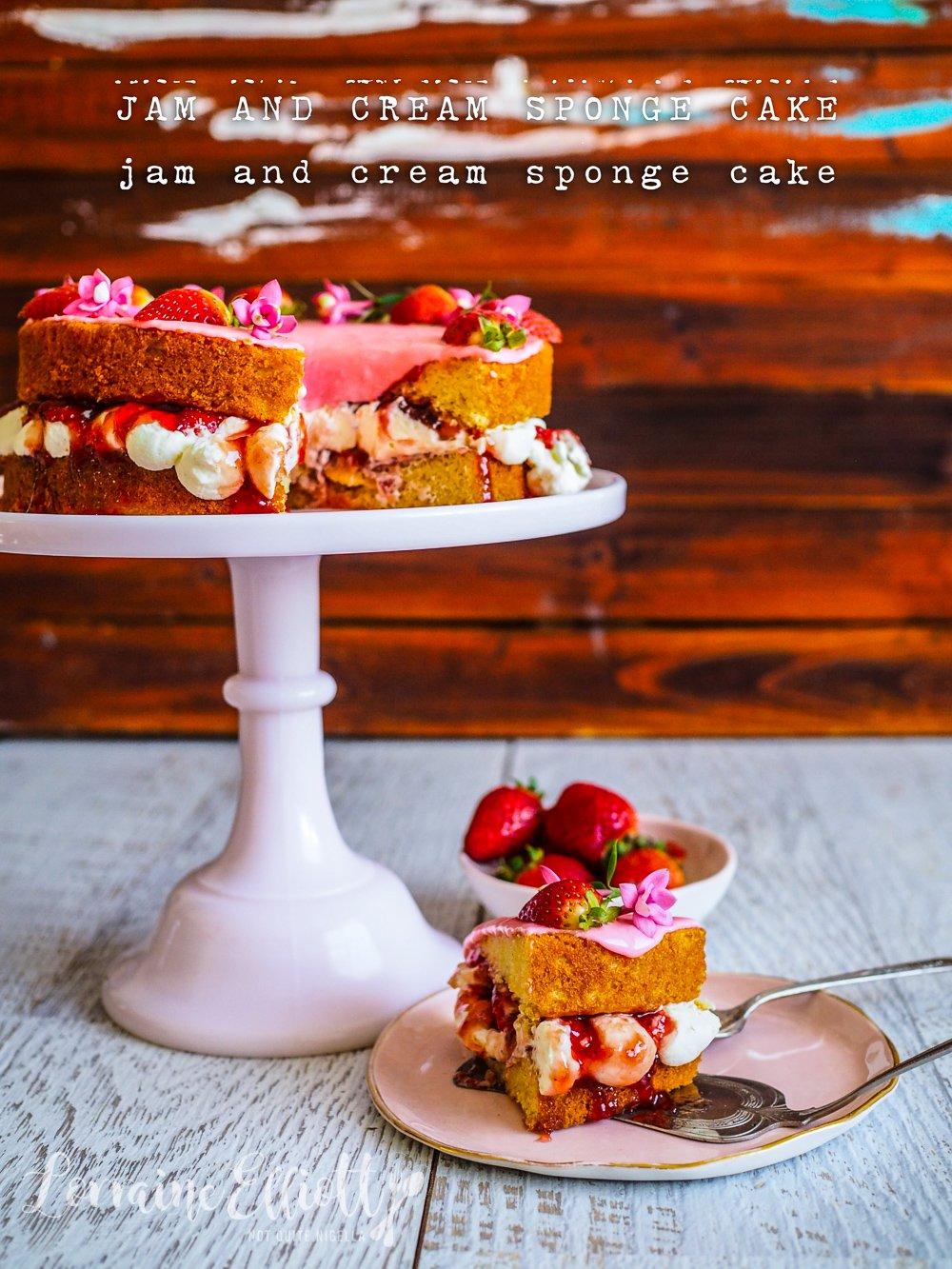 Cake Dreams A Strawberries Cream Victoria Sponge Cake