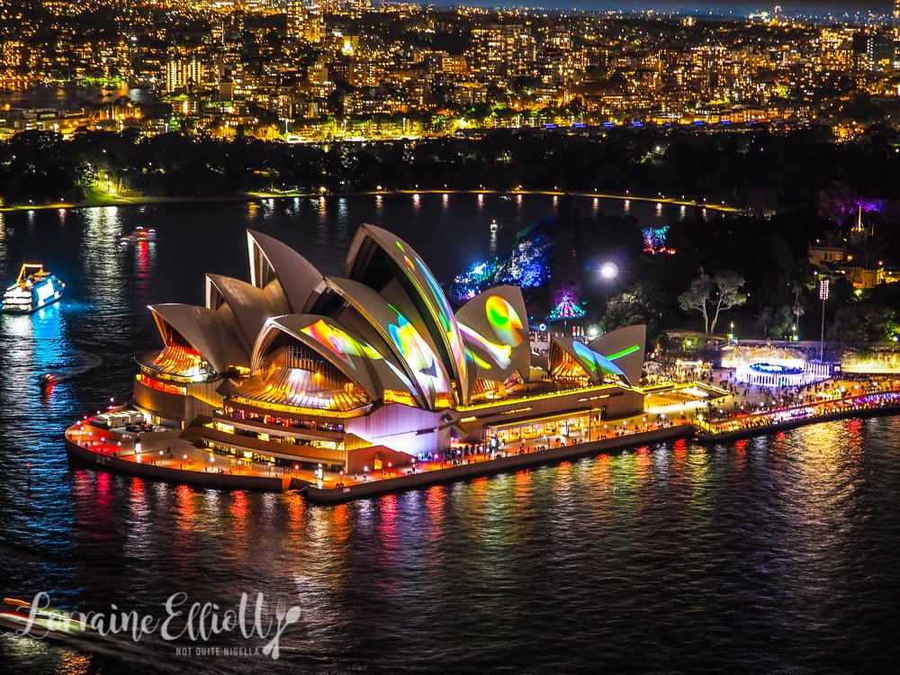 Vivid Sydney BridgeClimb and The Glenmore, The Rocks