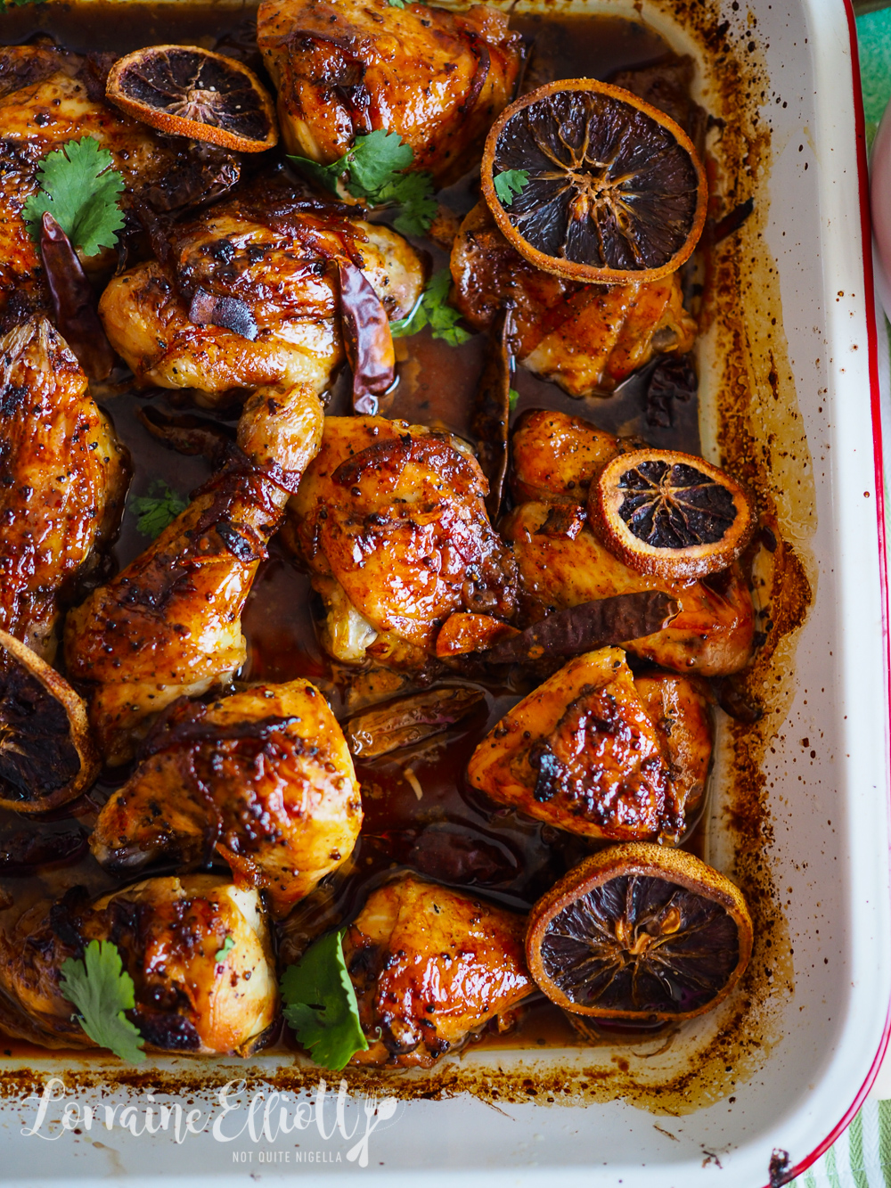 Vodka, Marmalade & Chilli Roast Chicken