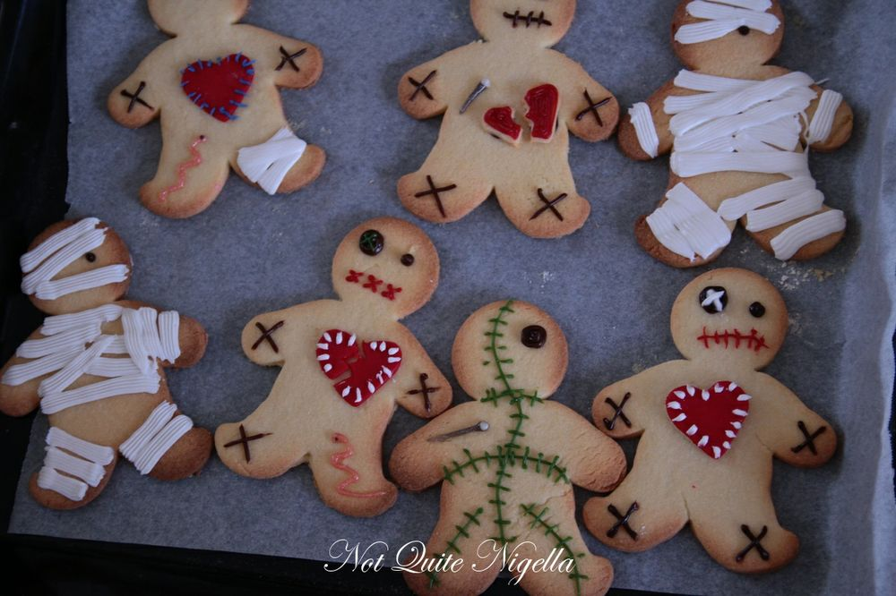 voodoo doll cookies