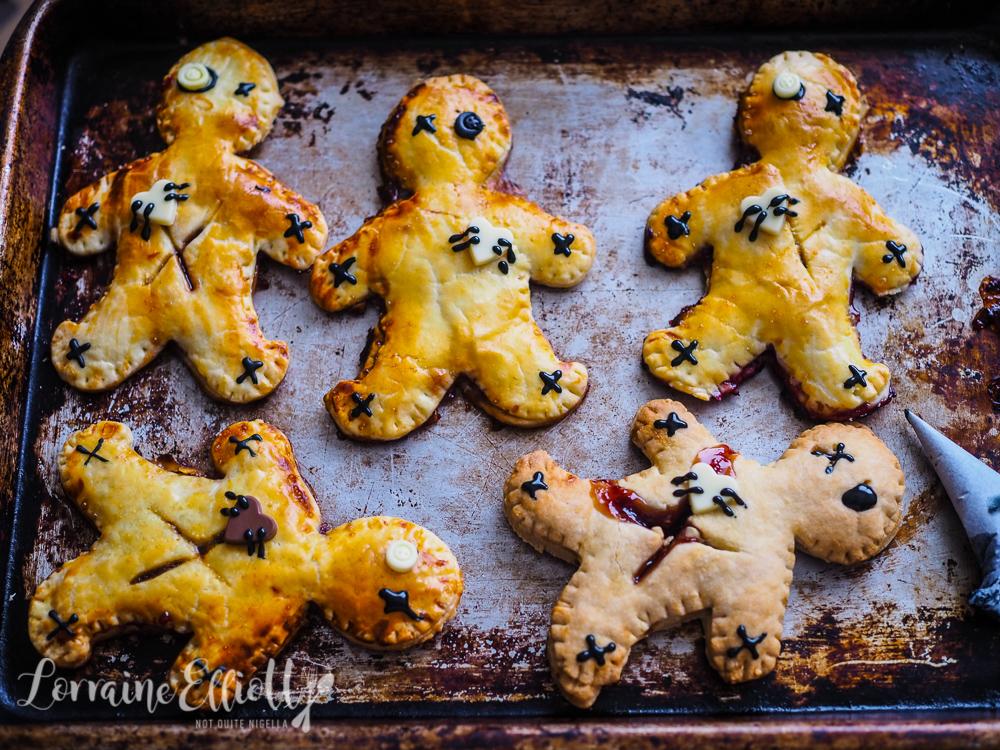 Voodoo Doll Pies recipe