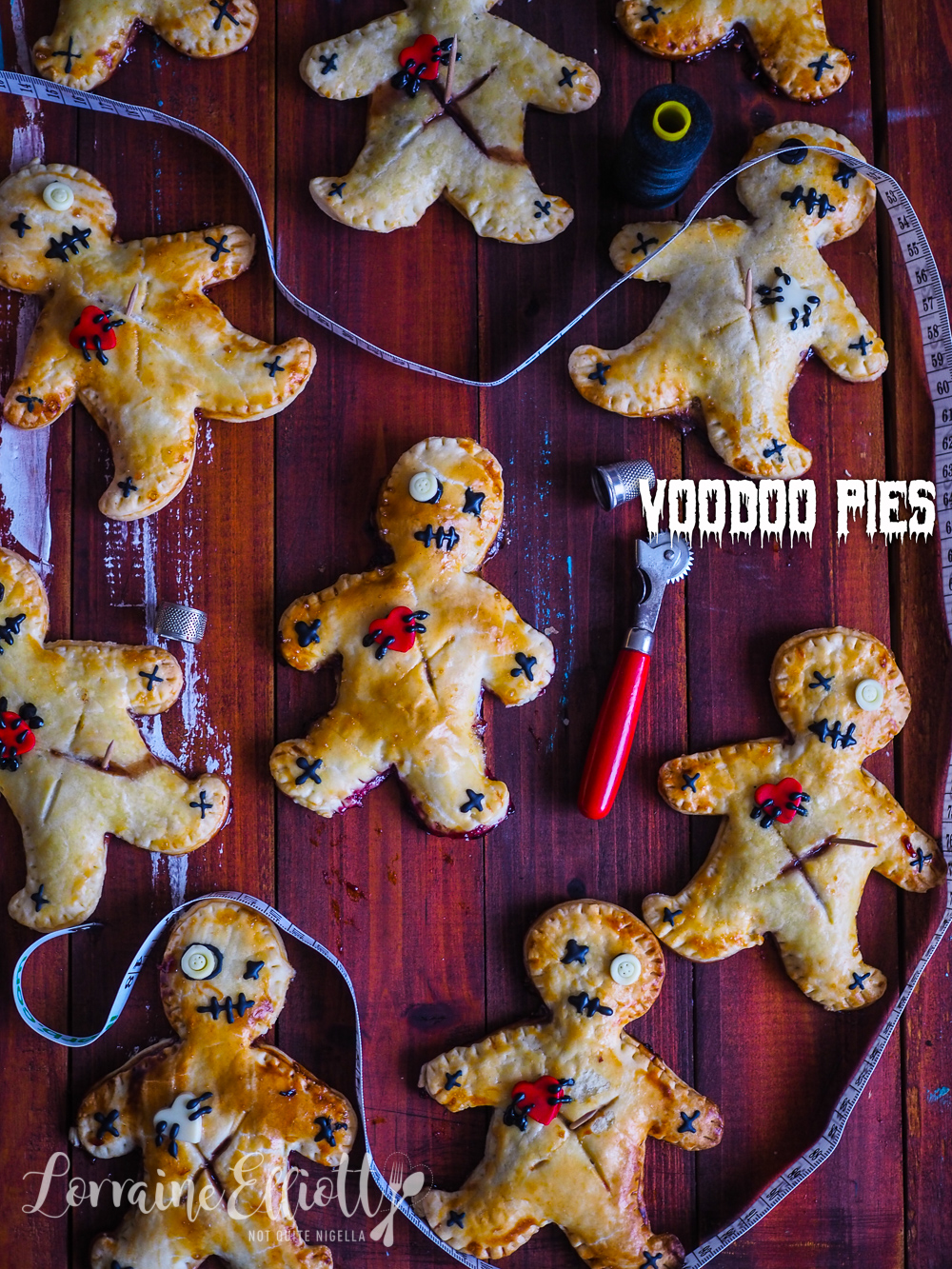 Voodoo Doll Pies recipe