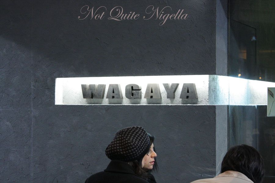Wagaya Japanese at Haymarket