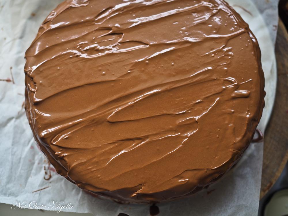 Wagon Wheel Cake